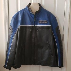 Men's Motorcross Leather Jacket Size 4X